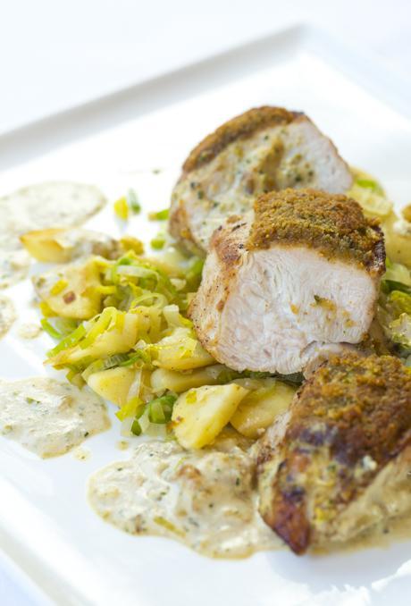 La cuisine par arnaud marchand volaille la persillade for Marchand cuisine
