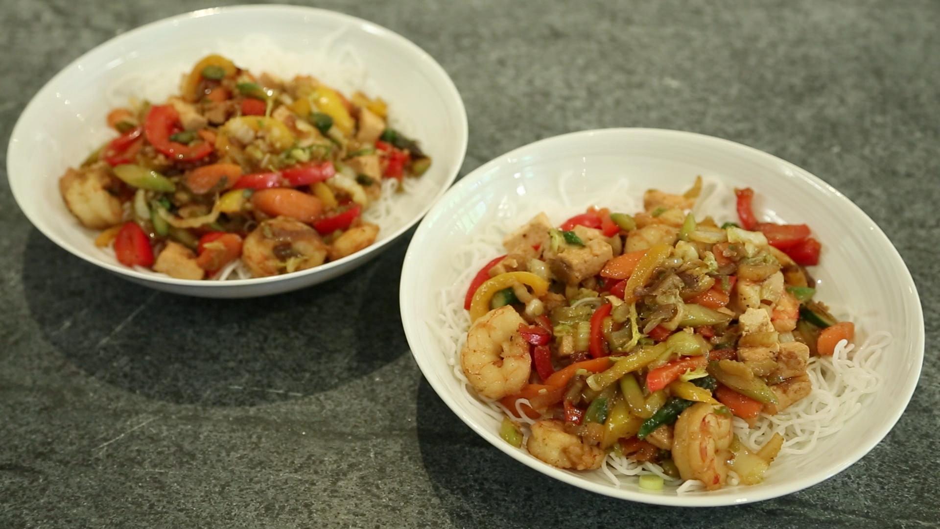 La cuisine par arnaud marchand wok de l gumes au tofu et for Marchand de cuisine
