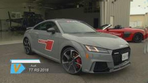 Audi TT RS 2018 et Honda Accord 2018