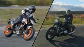 KTM 890R et BMW R18 First Edition